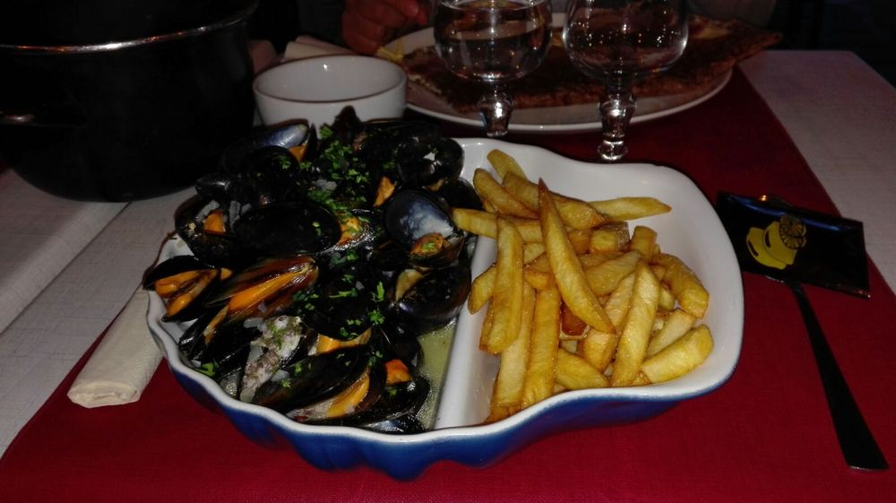 Seafood of Brittany