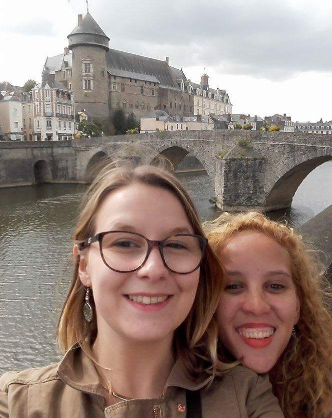 My wonderful friend Juliette and I