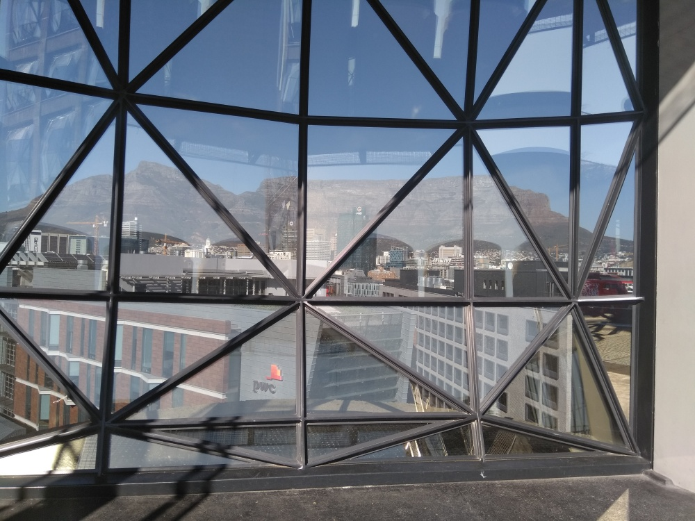 The view from inside of Zeitz Mocca