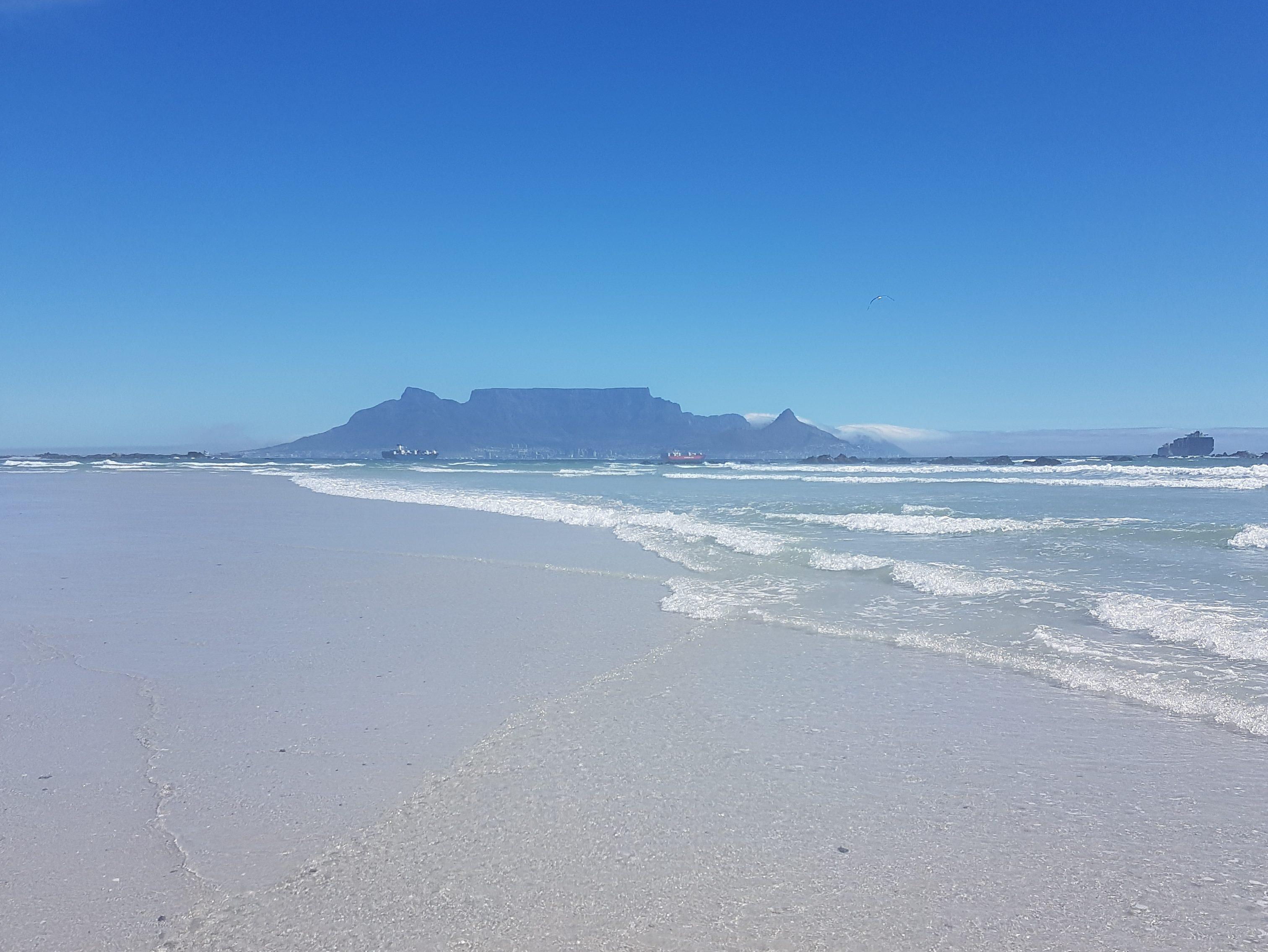 Blouberg beach, Table Mountain